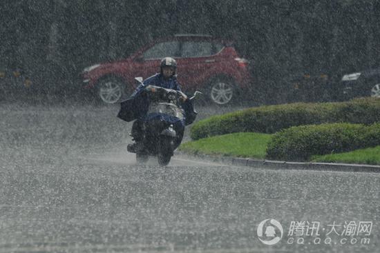这场雨下得有多大? 10区县达暴雨3区县大暴雨
