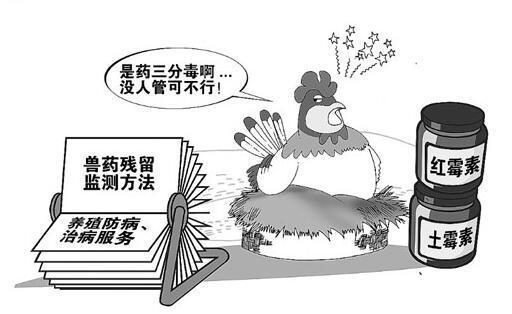 农药兽药残留等食品安全问题公众最关心