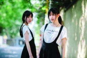 同分考进南艺同专业 双胞胎姐妹颜值高走红