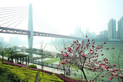 车下东水门大桥后 可通南岸三个主要地区