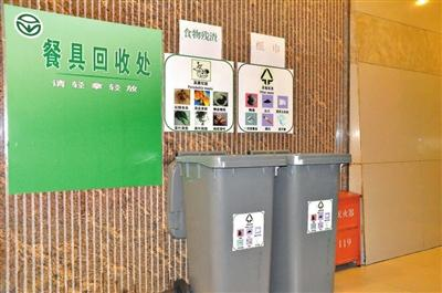 沙坪坝区665个公共机构将全面设置分类垃圾桶
