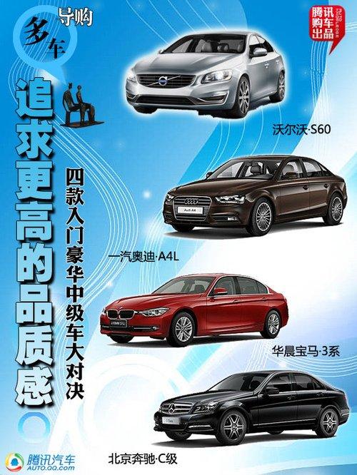 四款入门级豪华中级轿车推荐 运动是主流