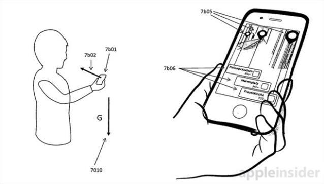 苹果新专利:把AR图像弄到手机或导航上去