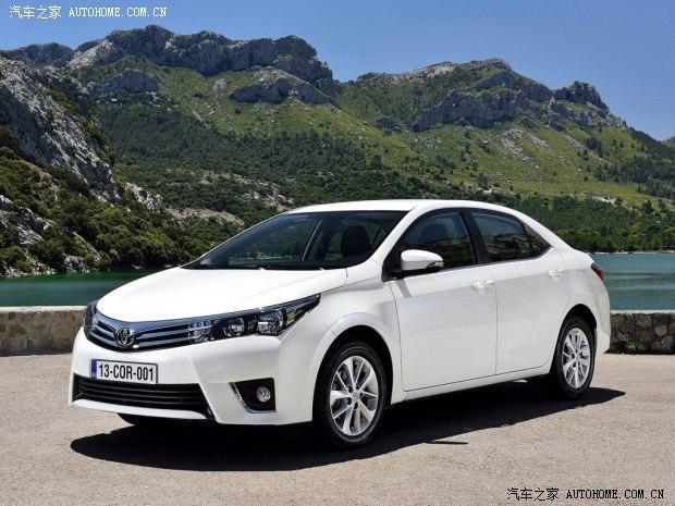 丰田丰田(进口)卡罗拉(海外)2014款 欧洲版