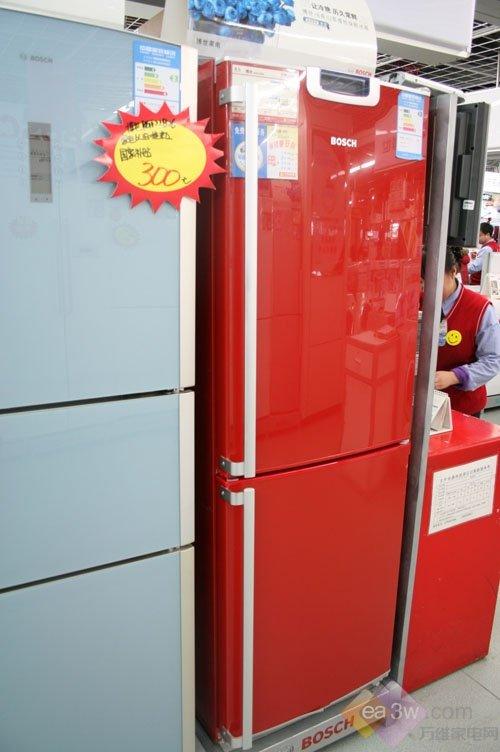20公斤冷冻力 博世两门冰箱降价售
