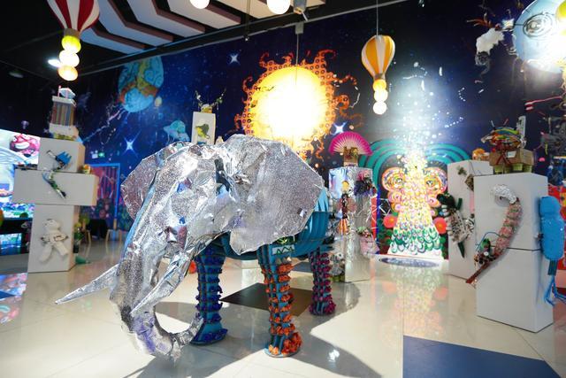 2019年印象汇首届环保艺术节开幕,500件原创作品不容错过