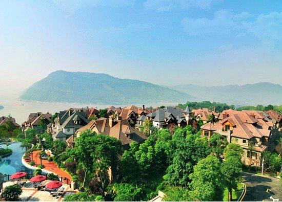 探究两江别墅内最新区宜居别墅区_大渝网_腾在的杭州生态有钱人哪里图片