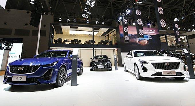 新豪华标杆凯迪拉克CT6,亮相重庆汽车消费节