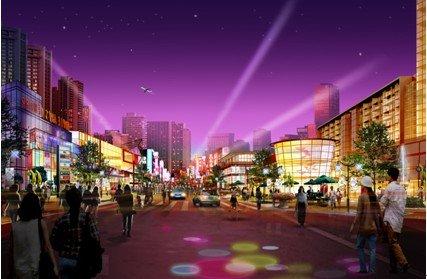 龙头寺十年造城  一个社区商圈应运而生