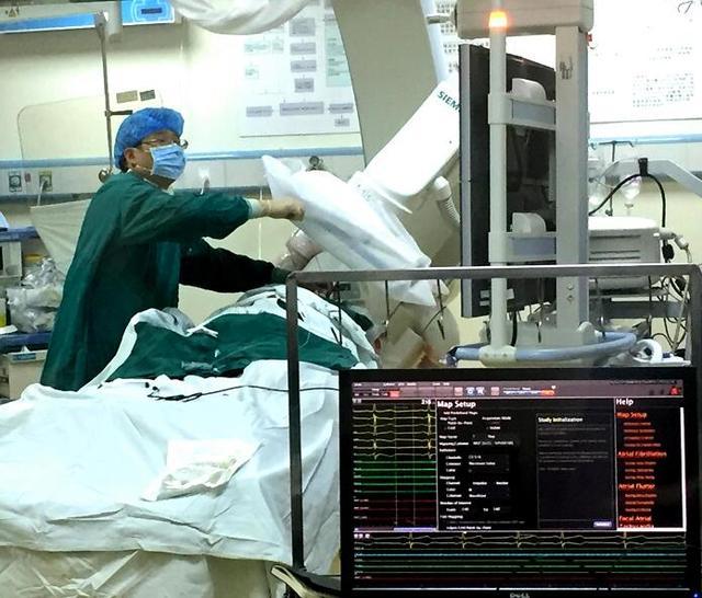 重医儿童医院首次在三维标测系统导航标测下成功完成3例小儿心律失常射频消融术