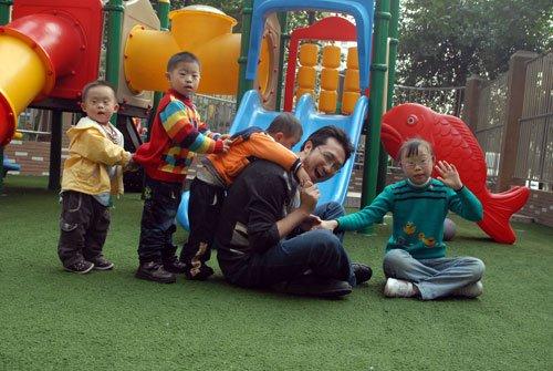 关爱残疾儿童——乐一融合幼儿园