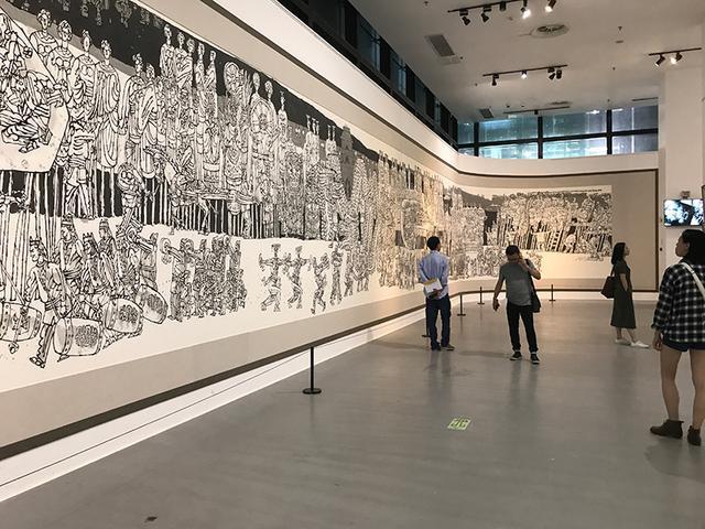 """杨晓阳个展亮相重庆美术馆 400幅""""丝绸之路""""作品"""