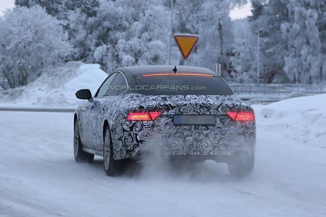 [新车谍报]改款奥迪A7将采用矩阵式LED大灯