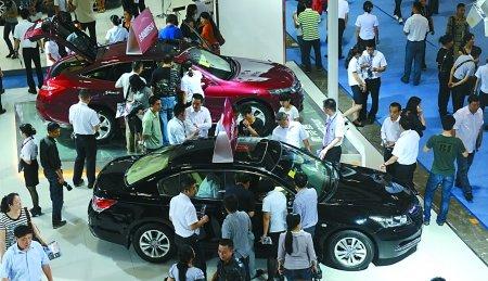 昨日车展 市民花4.4亿买走近3000辆(图)