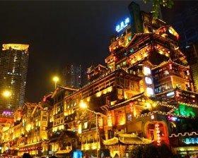 3D之城重庆魔幻建筑多 你都见过吗?