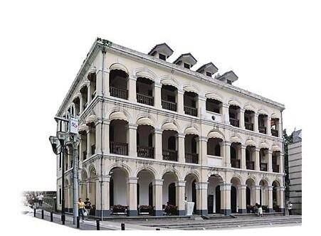 解放碑旁西式建筑文物 经修缮后开放