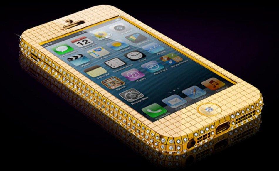 全球十大奢侈智能机 兰博基尼手机上榜