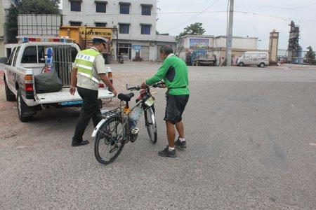 老驴友骑自行车去西藏
