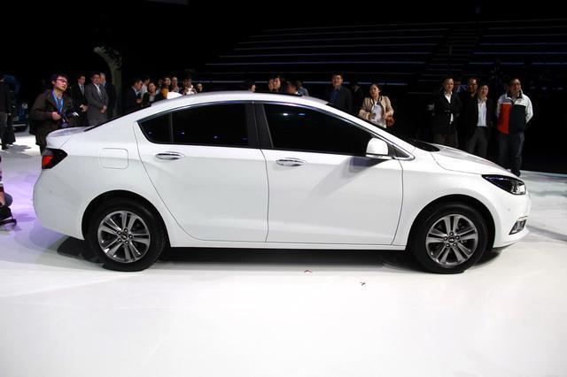 新一代科鲁兹全球首发 整车尺寸更加紧凑