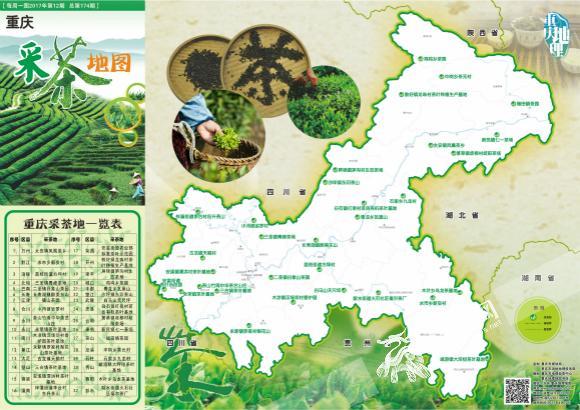 《重庆采茶地图》正式发布 这里有32个采茶好