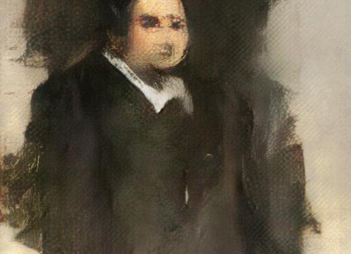 首幅人工智能画作将拍卖 成交价可达1万美元
