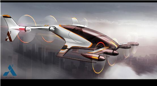 堵车要拜拜了!空客的飞行汽车将于2020年到来