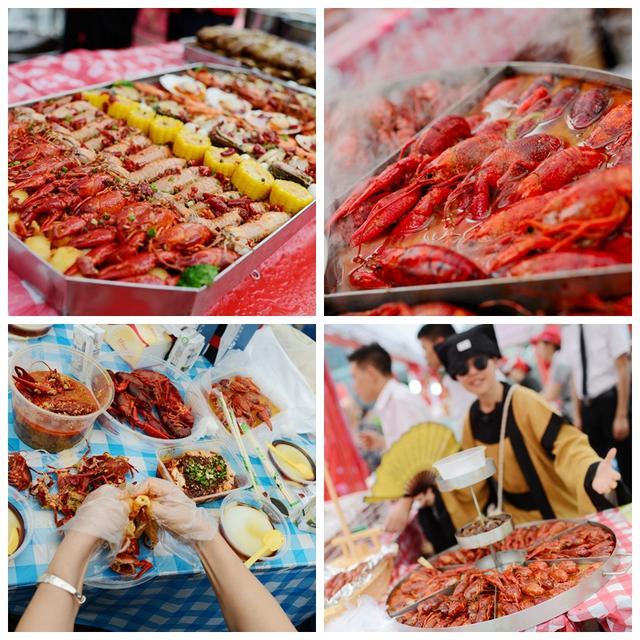 小龙虾节第1天2万人吃掉5吨虾 天友希腊神话邀你今晚继续约!