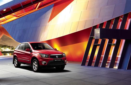 双龙新爱腾纯进口SUV 即将重庆区域上市