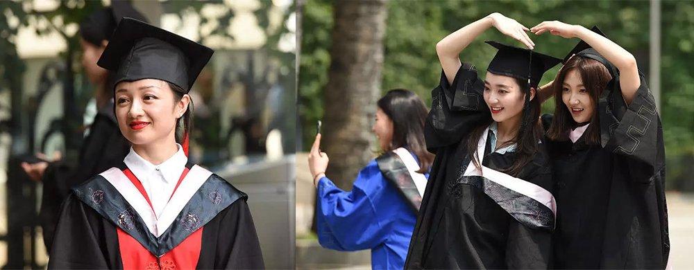 这些小姐姐也忒好看了吧!中戏毕业典礼美女云集颜值超高