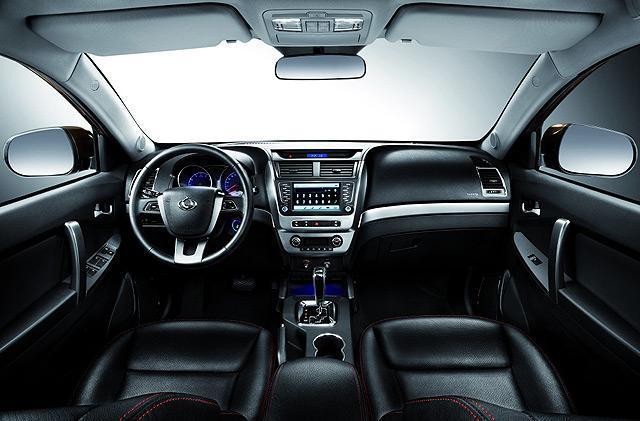 [国内车讯]2014款吉利GX7官图 将于3月上市