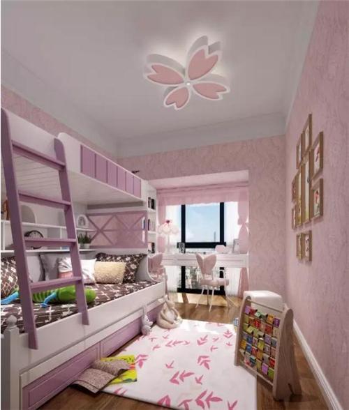 欧式风格 如同公主卧室般的女孩房!