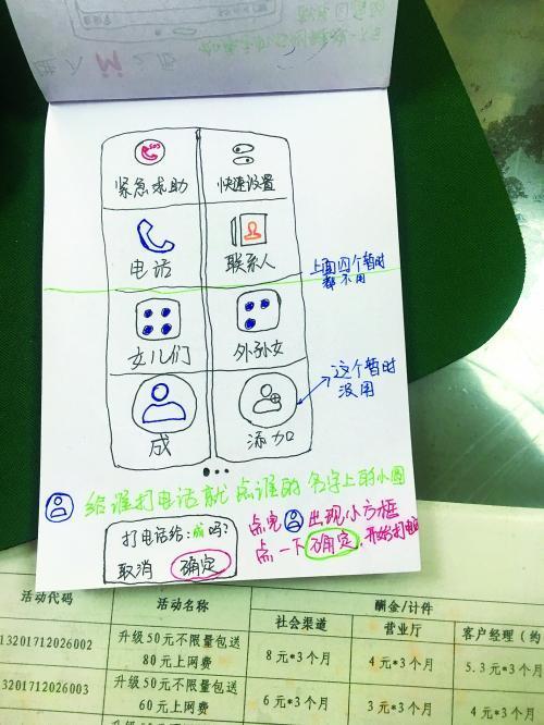 真孝!女大学生为85岁姥爷手绘智能手机操作图