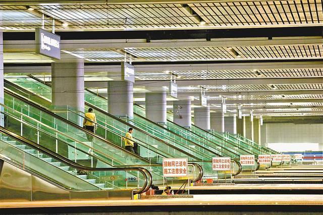 重庆西站最快本月投用 配套12条公交线路