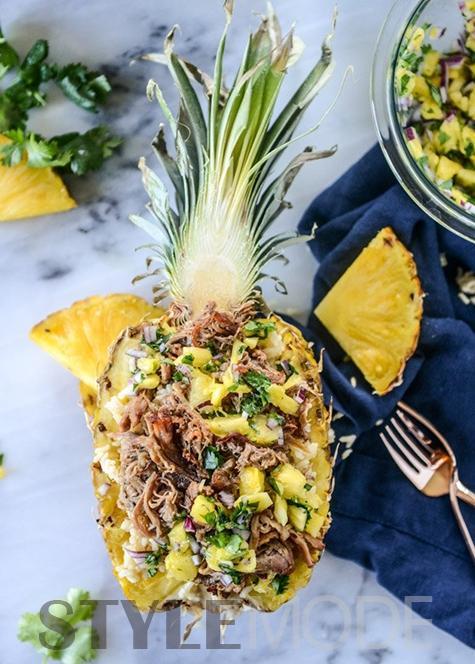 美貌与实力兼具 菠萝才是良心食材