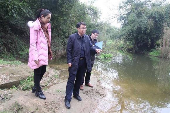大足构建水生态环境 河畅水清岸绿景美