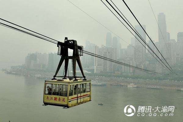 重庆长江索道周三设备检修 停运上午半天