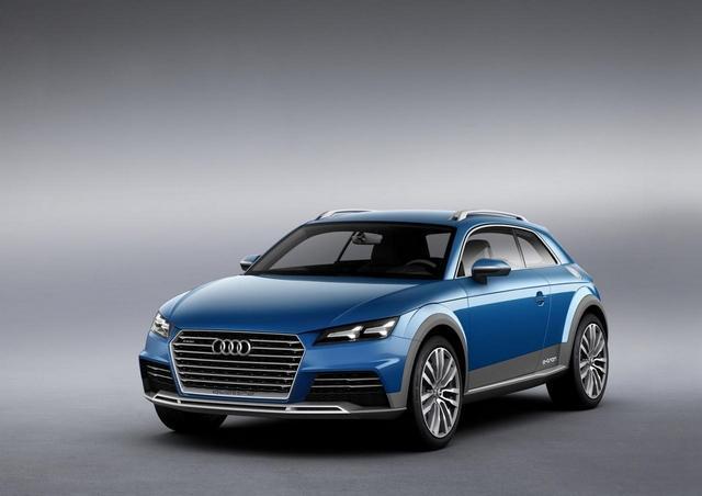 [新车发布]奥迪全新概念车官图 油耗仅1.9L