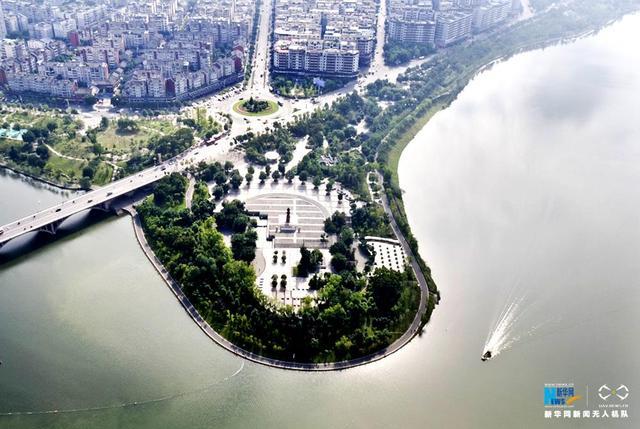 航拍重庆美丽生态画卷 构筑可持续发展绿色长城