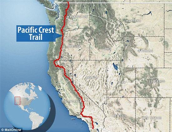美三名背包客穿越太平洋屋脊步道 5