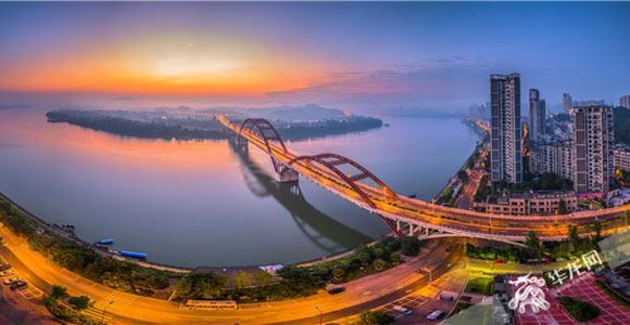 合川:三江六岸全国罕有 历史文化光彩夺目