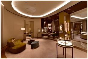 不用去北京、上海,在重庆就能看到卡地亚高级珠宝腕表