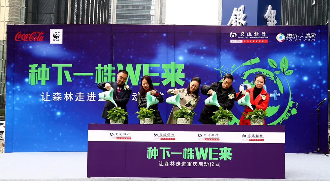 """交通银行""""让森林走进重庆""""活动启动"""