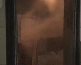 楼道消防管道爆裂
