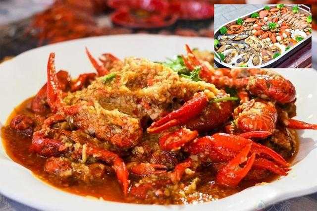 重庆报告编年史|小美食上位特效有美食哪些AE龙虾图片