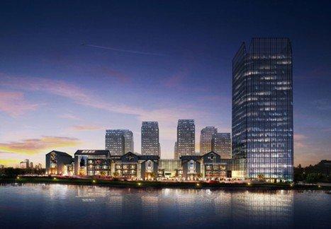 联手政府打造两江新中心 金贸时代引领商务向北