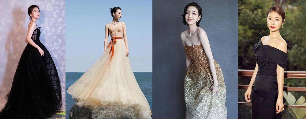 第28届金鸡奖开幕式众女星造型PK,周冬雨佟丽娅林心如比美