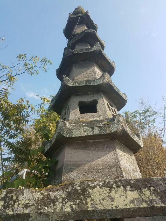 开州竟然还有一座古老而精致的文峰塔