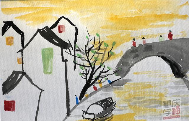 """【重庆学神NO.12】小小姑娘绘画作品太美好 爸妈发起""""天性保卫战"""""""