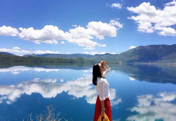 寻一方净土,觅一份安宁,或许就是泸沽湖最美的样子