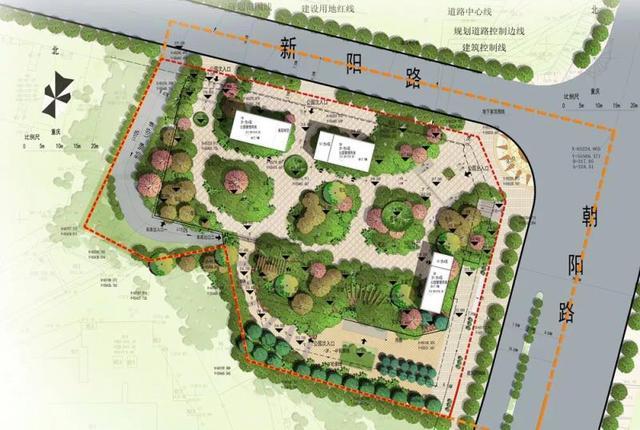 石桥铺将再添一座公园 计划明年底完工